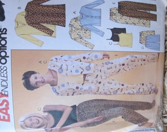 New/Uncut - 2002 McCall's Easy Endless Options Pattern 3856 - Size Y