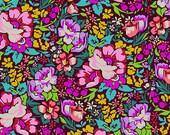 Anna Maria Horner - Floral Retrospective - Overachiever - Burgundy 1 yard
