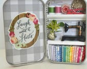 Tiny Tin Sewing Room ~ Laugh Until It Hurts