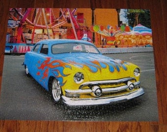 Carnival Car jigsaw puzzle 18.25x23 NEW