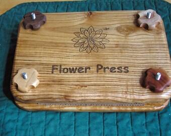 Flower Press, Red Elm