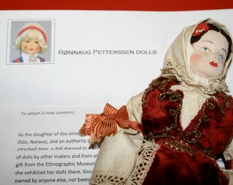 Sweet Serbian Doll With Provenance