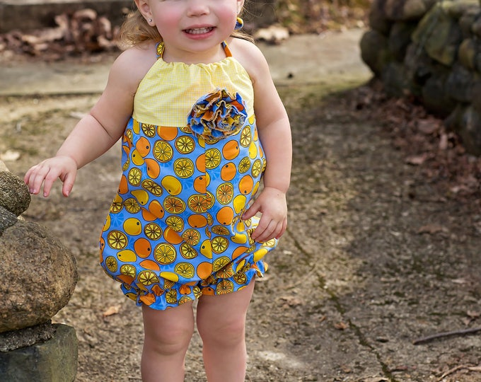 Baby Romper - Bubble Romper - Toddler Outfit - 1st Birthday - Baby Girl Outfit - Birthday Outfit - Toddler Clothes - Girl - 6 mo to 4T