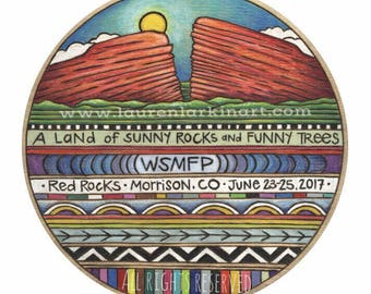 WSMFP Red Rocks Poster 2017