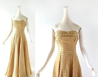 20% off sale 1940s Dance Dress | Swing Time | 40s Gown | XXXS XXS