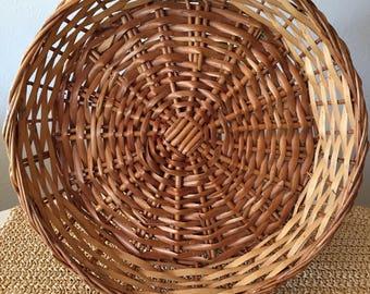 Round Shallow Basket