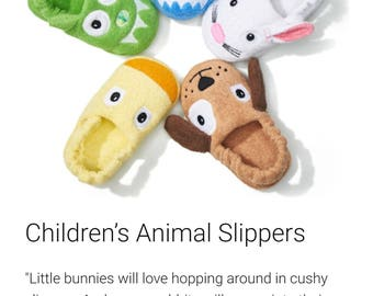 Yikes Twins Children's slippers