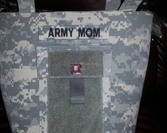 ACU handbag gift for mom Army mom purse Army wife handmade bag gift for sister mom wife grandma girlfriend custom Army handbag choice color