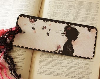 Featuring Miss Shadow - Tattoo Girl bookmark