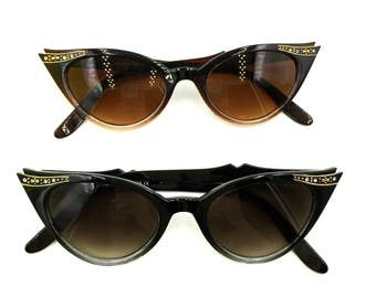 Diva Shades- 50's style cat eye with embellishment