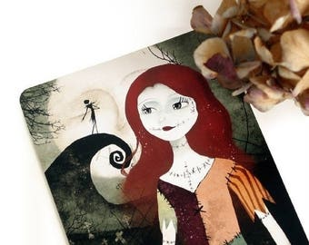 30% Off - Summer SALE A Nightmare Before Christmas - Postcard