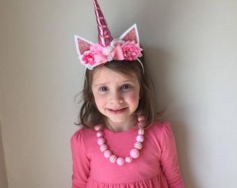 Pink Boutique Unicorn Headband