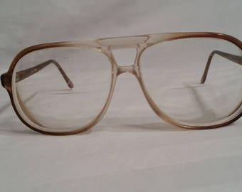 Vintage mens prescription glasses, bifocals