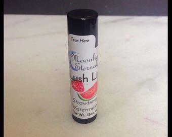 Strawberry Watermelon - Artisan Lip Balm - Handmade - Vegan Formula - With Aloe Vera Extract