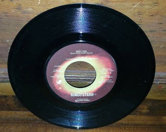 Ringo Starr Only You Vintage 45 RPM Record