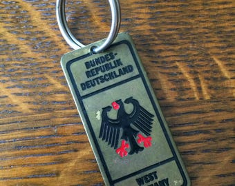 Vintage West Germany keychain