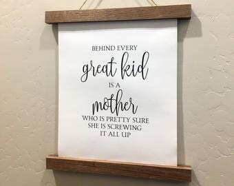 A mother is she who | Etsy