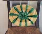 Beautiful Majolica Corn Cob Platter from Portugal