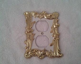 Vintage Single Toggle Light Switch Plate