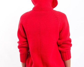 40% OFF The Vintage Red Villain Sweater Cardigan