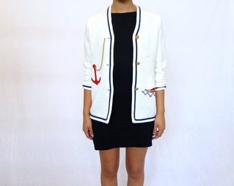 40% OFF The Nautical Cardigan