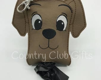 Dog Poop Bag Holder,Pet Gift-Dog Waste Bag,poop Bag Dispenser,Dog Lover Gift-Poo Bag Holder,Pet accessory,Clip On,Dog accessory