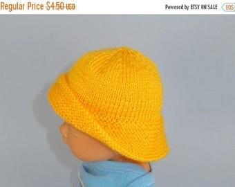 40% OFF SALE Digital file pdf download knitting pattern-Baby Souwester Rain Hat pdf knitting pattern