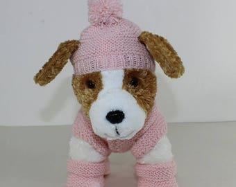 40% OFF SALE madmonkeyknits - Puppy Kitten Coat Bobble Hat and Booties knitting pattern pdf download - Instant Digital File pdf knitting pat
