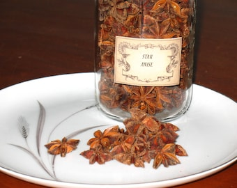 Star Anise~Anise Star Herb~Ward off the Evil Eye~Protection~Money