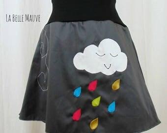 Cloud skirt grey