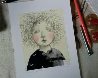Little girl Jemma
