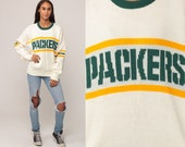 GREEN BAY PACKERS Sweater Football Sweater Wool Blend 80s Nfl Sweater Baggy Jumper Sports Vintage Extra Large xl