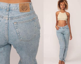 Gap Jeans Mom Jeans Denim Pants High Waist Jeans 90s Jeans Tapered The Gap Baggy 80s Vintage Hipster medium 30