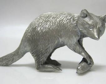 Pewter Raccoon