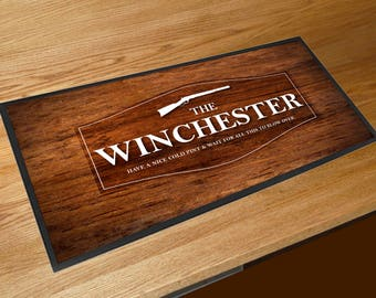 The Winchester Pub Wood effect Shaun of the Dead Movie Bar runner pubs clubs & Cocktail Bars