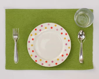 Montessori Embroidered Placemat for Infants, Toddlers, and Children