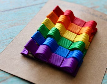 Rainbow Clippie Set - Set of 6 Clippies