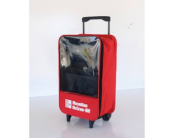 Vintage Rolling Luggage | Etsy