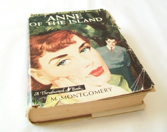 Anne of the Island book, Anne of Green Gables sequel, 1950s, L. M. Montgomery, book