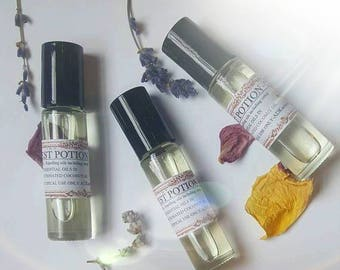 Pest Potion. Insect repelling roll on with catnip essential oil.  10 ML