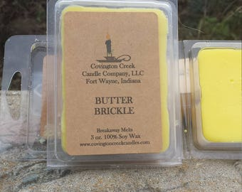 Butter Brickle Six Ounce Breakaway Melt.