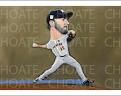 Houston Astros, Justin Verlander Art Photo Print