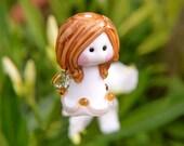 Little Guardian Angel glass bead