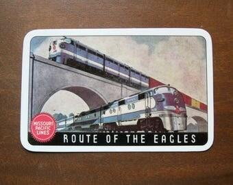 1949 Missouri Pacific Lines Pocket Card Calendar