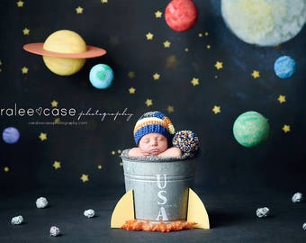 NEW ITEM Elf Hat in Blue, Orange, Yellow, Charcoal, and Grey