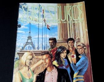 Euro Sourcebook for Cyberpunk RPG Trade Book - The EuroTheatre Sourcebook for Cyberpunk 1991