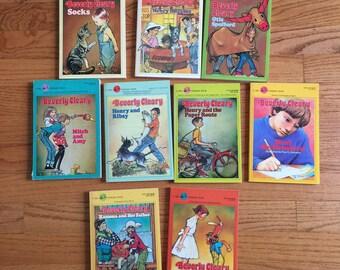 Vintage 1980s Childrens Chapter Book / Beverly Cleary Paperback CHOOSE Your Book or All / Ramona Henry Huggins Ellen Tebbits Otis Socks