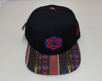 Snapback Flat-Brim Hat - Origens (One-of-a-kind)