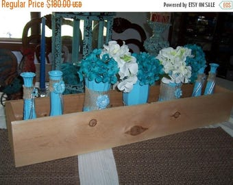 2 DAY SALE ONLY 6 Smores Bar , 36 in Planter Boxes , rustic wedding , reception centerpiece , wood planter , table centerpieces ,wedding dec