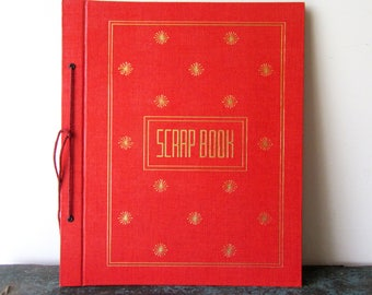 Vintage Scrap Book Photo Album Memory Book New OLD Stock